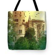 Medieval Castle - Old World  Tote Bag