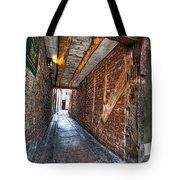 Medieval Doorway Tote Bag