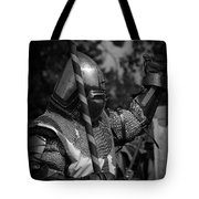 Medieval Faire Knight's Victory 1 Tote Bag