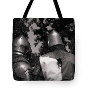 Medieval Faire Planning Strategies Tote Bag