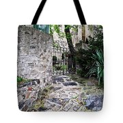 Medieval Garden Tote Bag
