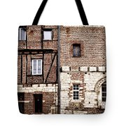 Medieval Houses In Albi France Tote Bag