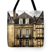 Medieval Houses In Vannes Tote Bag by Elena Elisseeva