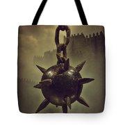Medieval Spike Ball  Tote Bag