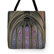 Medieval Stained Glass Tote Bag