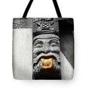 Medieval Statue Tote Bag