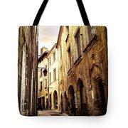 Medieval Street In Perigueux Tote Bag by Elena Elisseeva