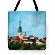 Medieval Tallinn Tote Bag
