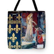 Medieval Tapestry Tote Bag by France  Art