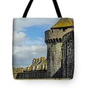 Medieval Towers Tote Bag