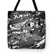 Medieval Town Rooftops Tote Bag by Jose Elias - Sofia Pereira