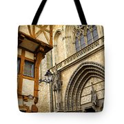 Medieval Vannes France Tote Bag by Elena Elisseeva