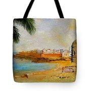 Medina Of Tetouan Tote Bag by Catf