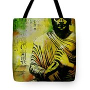 Meditating Buddha Tote Bag by Corporate Art Task Force