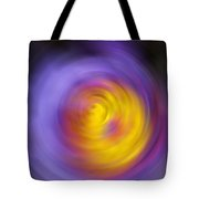 Meditation - Abstract Energy Art By Sharon Cummings Tote Bag
