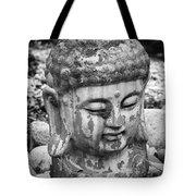 Meditation Bw Tote Bag