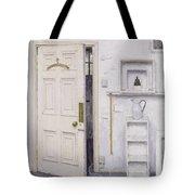 Meditation On A Door I Tote Bag by Charles E Hardaker