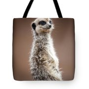 Meerkat Portrait Tote Bag
