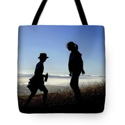 Meet At The Top Of The World Tote Bag