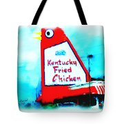 Meet Me At The Big Chicken Tote Bag
