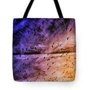 Meet Me Halfway Across The Sky 3 Tote Bag by Angelina Vick