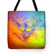 Meet Me On The Mountain If You Dare To   Tote Bag