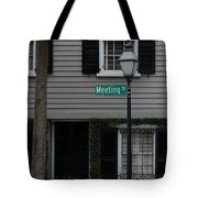 Meeting St Tote Bag