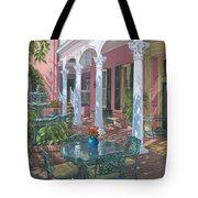 Meeting Street Inn Charleston Tote Bag by Richard Harpum