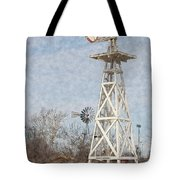 Megan's Windmill Tote Bag