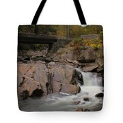 Meigs Falls In Autumn Tote Bag