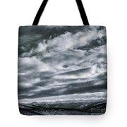 Melancholia Mountains And Even More Mountains Tote Bag