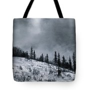 Melancholia Pines And Trees Tote Bag