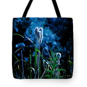 Melba Cattails Tote Bag