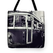 Old Tram In Melbourne Tote Bag