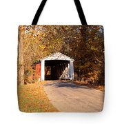 Melcher Covered Bridge Parke Co In Usa Tote Bag