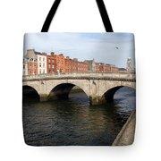 Mellows Bridge In Dublin Tote Bag
