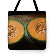 Melon Halves Tote Bag