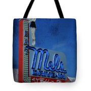 Mels Drive In Celebrity Bar Tote Bag by Janice Rae Pariza
