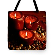 Melted Candles Tote Bag