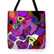 Melted Rubiks Cube 2 Tote Bag