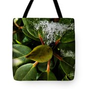 Melting Crystals Tote Bag
