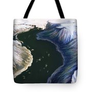 Melting Glacier 3 Of 3 Tote Bag