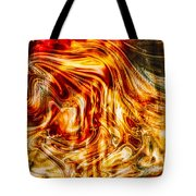 Melting Gold Tote Bag