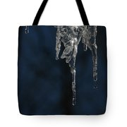 Melting Icicle Formation The Joker Tote Bag