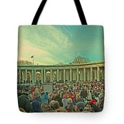 Memorial Amphitheater At Arlington National Cemetery Tote Bag by Tom Gari Gallery-Three-Photography
