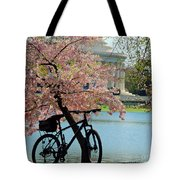 Memorial Bicycle Tote Bag