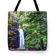 Memorial Falls In Montana Tote Bag