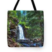 Memorial Falls With Sky Tote Bag
