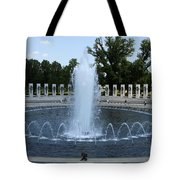 Memorial Fountain Washington Dc Tote Bag