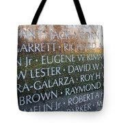 Memorialized Tote Bag